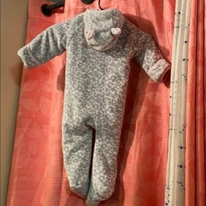 Children's place 12-18months fleece onesie
